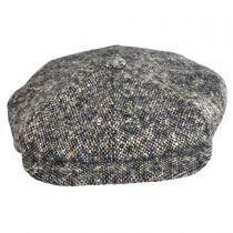 Donegal Tweed Tic Weave Newsboy Cap