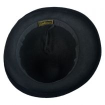 2 Tone Velvet Cloche Hat
