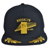 Brooklyn Steel Snapback Baseball Cap in