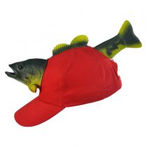 3D Fish Snapback Baseball Cap in