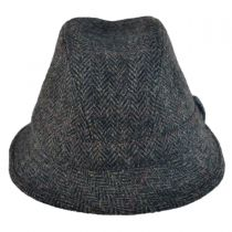 Harris Tweed Windowpane Walker Fedora Hat