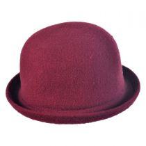Wool Bombin Bowler Hat