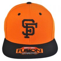 San Francisco Giants MLB Back 2 Front Snapback Baseball Cap alternate view 2