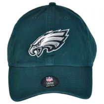 Philadelphia Eagles NFL Clean Up Strapback Baseball Cap Dad Hat in