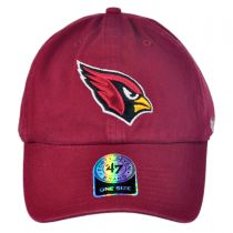 Arizona Cardinals NFL Clean Up Strapback Baseball Cap Dad Hat alternate view 2