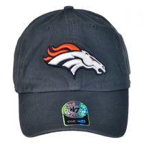 Denver Broncos NFL Clean Up Strapback Baseball Cap Dad Hat alternate view 2