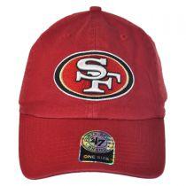 San Francisco 49ers NFL Clean Up Strapback Baseball Cap Dad Hat alternate view 6