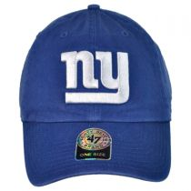 New York Giants NFL Clean Up Strapback Baseball Cap Dad Hat alternate view 2