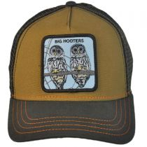 Hooters Mesh Trucker Snapback Baseball Cap alternate view 2
