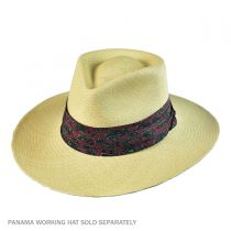 Paisley 3-Pleat Pug Hat Band in