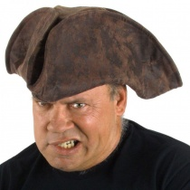 Pirate Jack Hat Brown