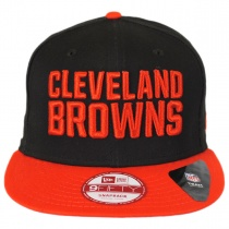 Cleveland Browns NFL 9Fifty Snapback Baseball Cap alternate view 2