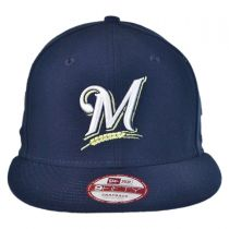 Milwaukee Brewers MLB 9Fifty Snapback Baseball Cap alternate view 2