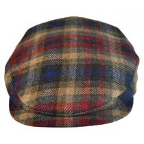 Cashmere Wool Plaid Ivy Cap