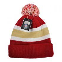 San Francisco 49ers NFL Breakaway Knit Beanie Hat in