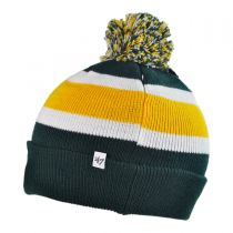 Green Bay Packers NFL Breakaway Knit Beanie Hat alternate view 2