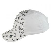 Rhinestone Adjustable Baseball Cap alternate view 11