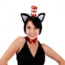 Cat in the Hat Deluxe Fascinator Headband in