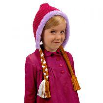 Frozen Anna Knit Peruvian Beanie Hat alternate view 2