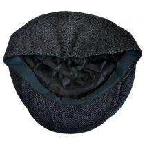 Giuseppe Herringbone Wool Blend Ivy Cap in