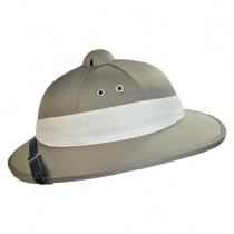 B2B African Safari Pith Helmet Alternate View