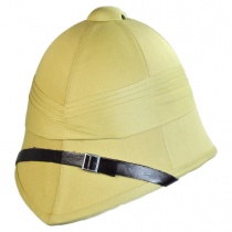 B2B British Pith Helmet Alternate View