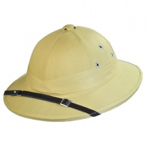 B2B French Pith Helmet - Big Head Version Alternate View