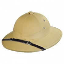 B2B French Pith Helmet Khaki