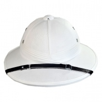 B2B French Pith Helmet White