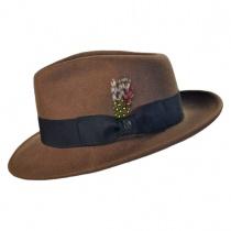C-Crown Crushable Wool Felt Fedora Hat alternate view 24