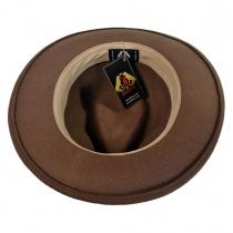 C-Crown Crushable Wool Felt Fedora Hat alternate view 25