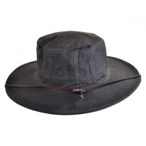 The Squatter Waxed Cotton Booney Hat in