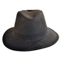 The Milford Wax Cotton Fedora Hat in