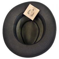 The Milford Wax Cotton Fedora Hat alternate view 12