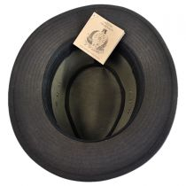 The Milford Wax Cotton Fedora Hat alternate view 12