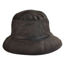 The Storm Waxed Cotton Bucket Hat in