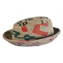 Havana Coffee Works Jute Pork Pie Hat in