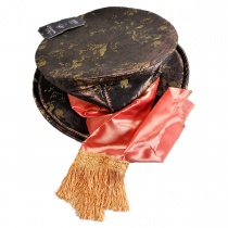 Alice in Wonderland Mad Hatter Top Hat in