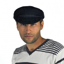 Wool Greek Fisherman's Cap in