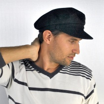 Herringbone Sailor Cap