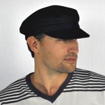 Corduroy Fiddler's Cap