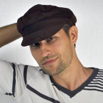 Corduroy Fiddler's Cap in