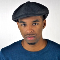 Union Wool Blend Newsboy Cap alternate view 7