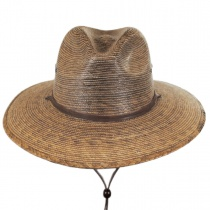 Rustic Palm Leaf Hat in