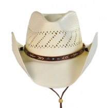Santa Fe Shantung Straw Cowboy Hat alternate view 2