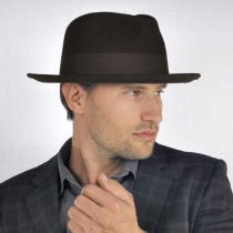 C-Crown Crushable Wool Felt Fedora Hat alternate view 118