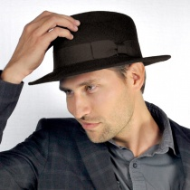 C-Crown Crushable Wool Felt Fedora Hat alternate view 119