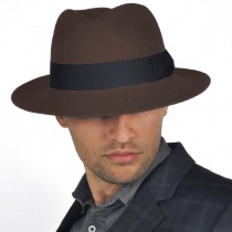 C-Crown Crushable Wool Felt Fedora Hat alternate view 26