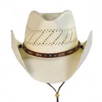 Santa Fe Shantung Straw Cowboy Hat