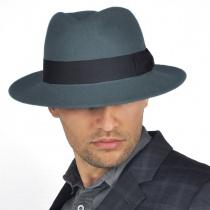 C-Crown Crushable Wool Felt Fedora Hat in